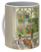 Autumn Fruit And Flowers Coffee Mug by Timothy  Easton