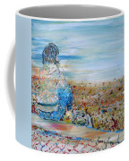 Autumn - Girl At The Lake Coffee Mug
