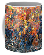 Autumn Grapes Coffee Mug
