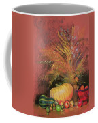 Autumn Harvest Coffee Mug by Claire Spencer
