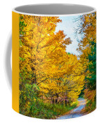 Autumn Hike - Paint Coffee Mug