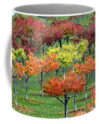 Autumn Hillside Orchard Coffee Mug
