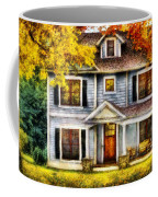 Autumn - House - Cottage  Coffee Mug by Mike Savad