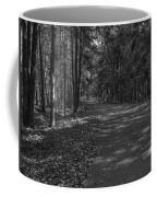 Autumn In Black And White Coffee Mug