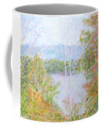 Autumn By The Lake In New Hampshire Coffee Mug