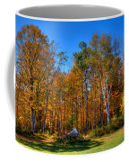 Autumn In North River New York Coffee Mug