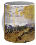 Autumn In The Mountains Coffee Mug by Adrian Scott Stokes