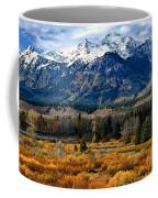 Autumn In The Tetons Coffee Mug