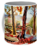 Autumn Jon Boats I Coffee Mug