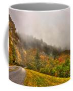 Autumn Just Around The Bend Blue Ridge Parkway In Nc Coffee Mug