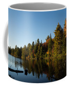 Autumn Lake In The Forest - Reflection Tranquility Coffee Mug