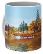Autumn Lake In The Woods Coffee Mug