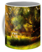 Autumn - Landscape - Past And Present Coffee Mug