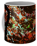 Autumn Leaf Abstract Coffee Mug