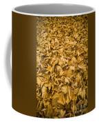 Autumn Leaf Background Coffee Mug
