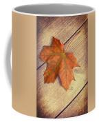 Autumn Leaf Coffee Mug by Amanda Elwell