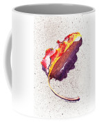 Autumn Leaf On Fire Coffee Mug