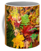 Autumn Leaf Salad Coffee Mug