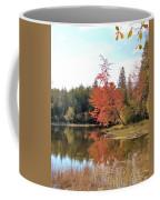 Autumn Leaning Tree Coffee Mug