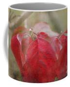 Autumn Leaves Blank Greeting Card Coffee Mug