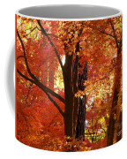 Autumn Leaves Coffee Mug by Carol Groenen