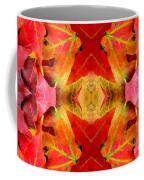 Autumn Leaves Mirrored Coffee Mug