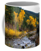Autumn Leaves Of Red And Gold Coffee Mug
