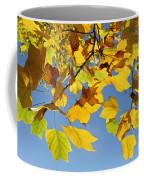 Autumn Leaves Of The Tulip Tree Coffee Mug