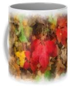 Autumn Leaves Photo Art 04 Coffee Mug