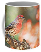 Autumn Male House Finch 1 Coffee Mug