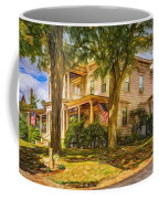 Autumn Mansion 4 - Paint Coffee Mug