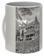 Autumn Mansion Bw Coffee Mug
