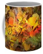 Autumn Masquerade Coffee Mug by Martin Howard