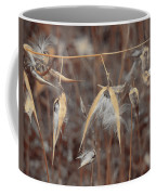 Autumn Milkweed Coffee Mug