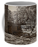 Autumn Mill Sepia Coffee Mug