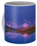 Autumn Morning Grand Tetons National Park Wyoming Coffee Mug