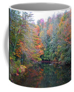 Autumn Mountain Stream Coffee Mug