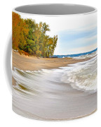 Autumn On The Beach Coffee Mug