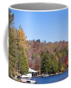 Autumn On The Fulton Chain Of Lakes In The Adirondacks V Coffee Mug