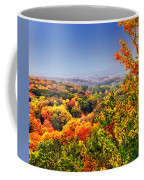 Autumn Over The Rolling Hills Coffee Mug
