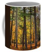 Autumn Pines Square Coffee Mug