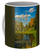 Autumn Pond Coffee Mug