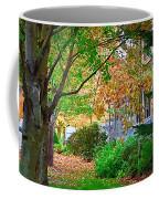 Autumn Porch Coffee Mug