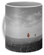 Autumn Prairie Trees Coffee Mug