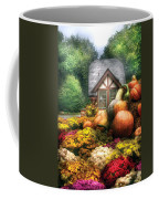 Autumn - Pumpkin - This Years Harvest Was Awesome  Coffee Mug by Mike Savad