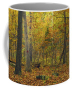 Autumn Red Was Blood Red Coffee Mug
