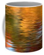 Autumn Reflections In Pond Coffee Mug