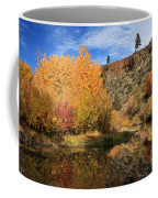 Autumn Reflections In The Susan River Canyon Coffee Mug