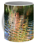Autumn River Water Reflections  Coffee Mug