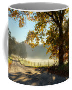 Autumn Road Coffee Mug by Bill Wakeley